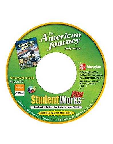 9780078806841: The American Journey, Early Years, StudentWorks Plus CD-ROM