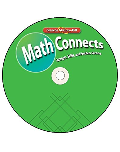 9780078807459: Math Connects: Concepts, Skills, and Problems Solving, Course 3, Super DVD (MATH APPLIC & CONN CRSE)