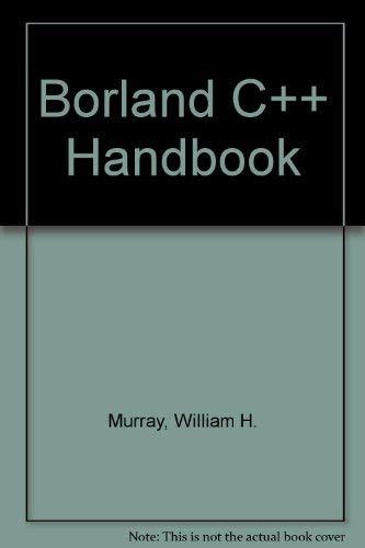 9780078810152: Borland C++ Handbook