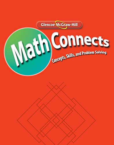 9780078810329: Math Connects: Study Guide and Intervention and Practice Workbook, Course 1