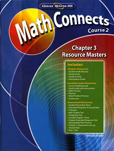 MathConnects Course 2 Chapter 3 Resource Masters