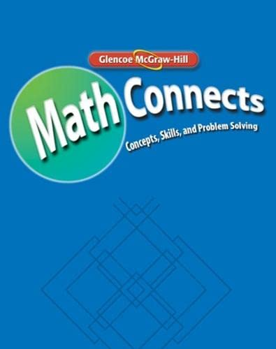 9780078810541: Math Connects: Study Guide and Intervention and Practice Workbook, Course 2