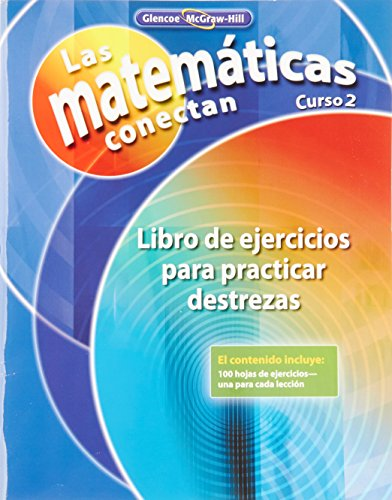 9780078810572: Math Connects: Concepts, Skills, and Problems Solving, Course 2, Spanish Skills Practice Workbook (MATH APPLIC & CONN CRSE) (Spanish Edition)