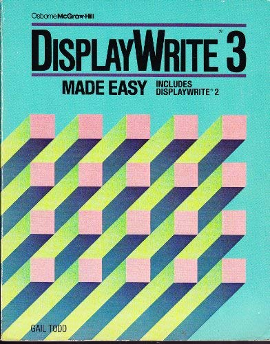 9780078811746: Displaywrite 3 Made Easy