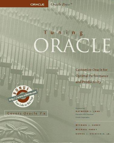 9780078811814: Tuning Oracle (Oracle Series)
