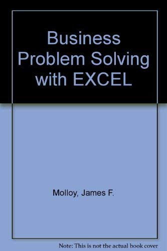 9780078812248: Business Problem Solving With Excel