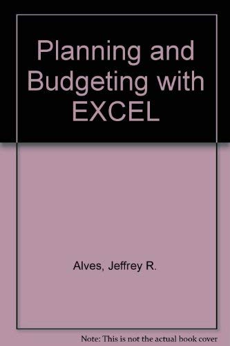 9780078812255: Planning and Budgeting with EXCEL
