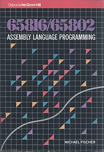9780078812354: 65816/65802 Assembly Language Programming