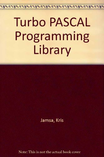 9780078812385: Turbo PASCAL Programming Library