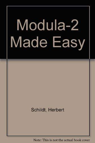 9780078812415: Modula-2 Made Easy