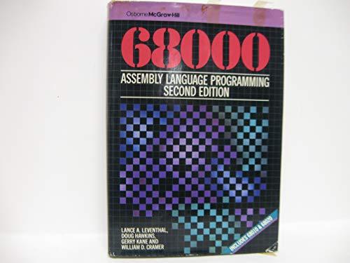 9780078812569: 68000 Assembly Language Prog 2ND Edition