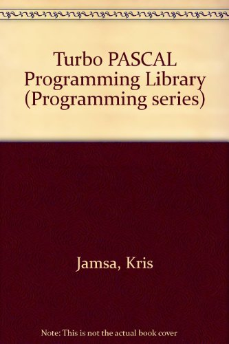 9780078812866: Turbo PASCAL Programming Library (Borland-Osborne/McGraw-Hill programming series)