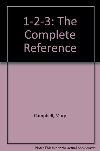 9780078812880: 1-2-3: The Complete Reference