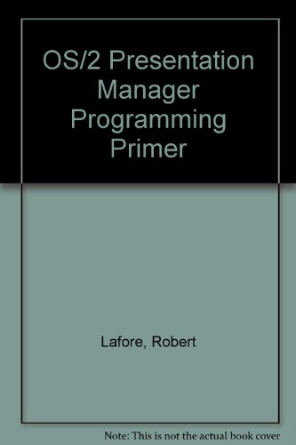 9780078814679: Os/2 Presentation Manager Programming Primer