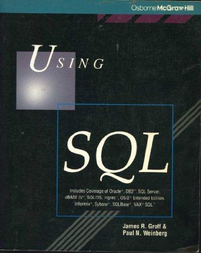 9780078815249: Using SQL