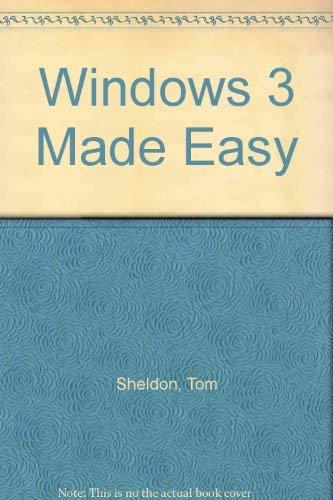 9780078815379: Windows 3 Made Easy