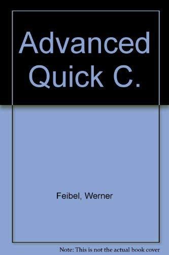 9780078815867: Advanced Quick C