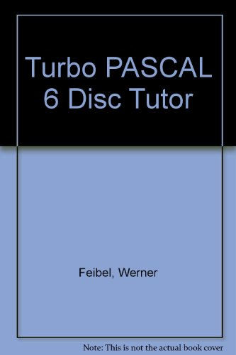 9780078817380: Turbo PASCAL 6 Disc Tutor