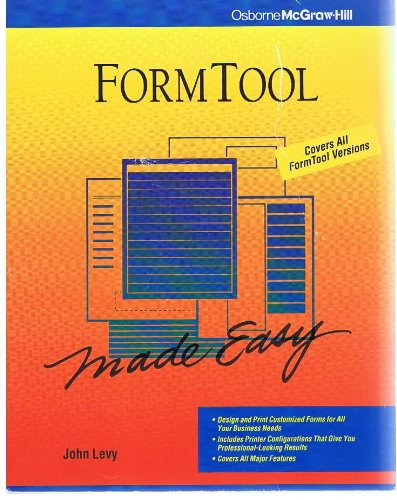9780078817403: Formtool Made Easy