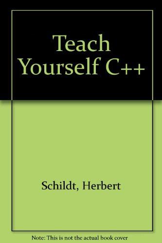 9780078817601: Teach Yourself C++