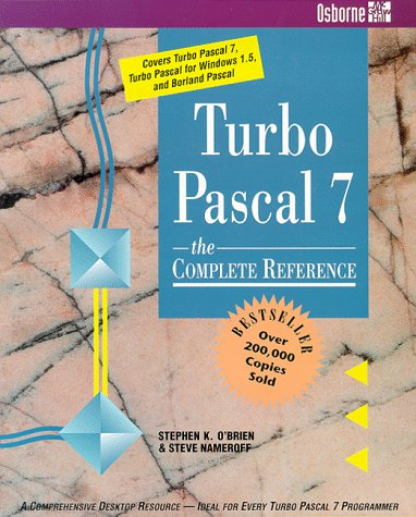 9780078817939: Turbo Pascal 7: The Complete Reference