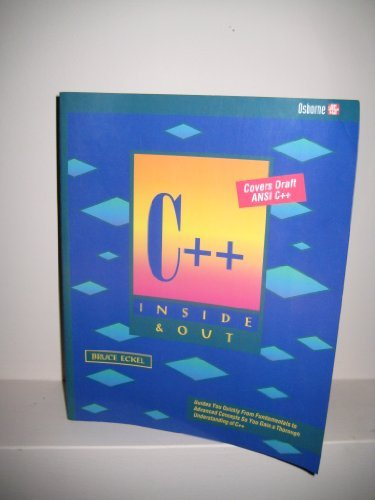 9780078818097: C++ Inside & Out/Covers Draft ANSI C++