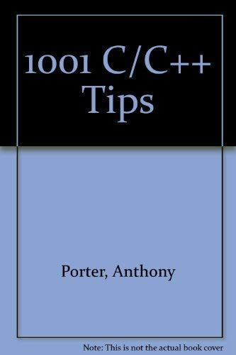 9780078818202: The Best C/C++ Tips Ever