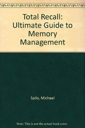 9780078818356: Total Recall: The Ultimate Guide to Memory Management