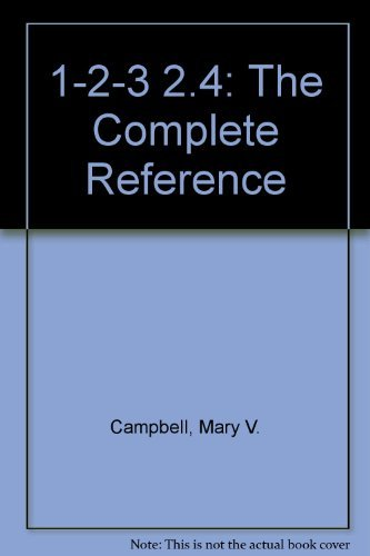 9780078818530: 1-2-3 2.4: The Complete Reference