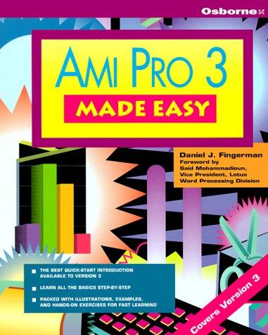 9780078818578: Ami Pro 3 Made Easy