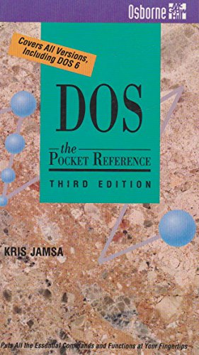 9780078819063: DOS: The Pocket Reference