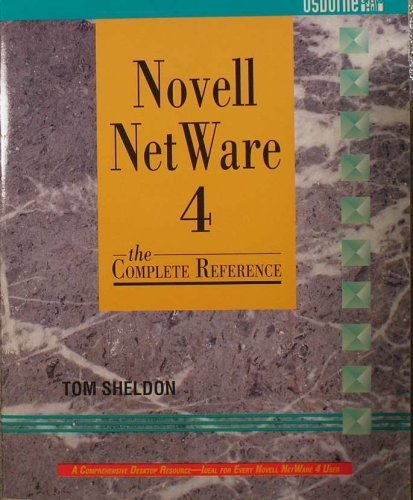 9780078819094: Novell Netware 4: The Complete Reference