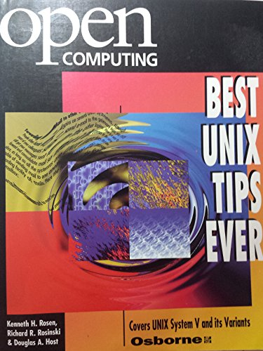 9780078819247: Open Computing's Best Unix Tips Ever