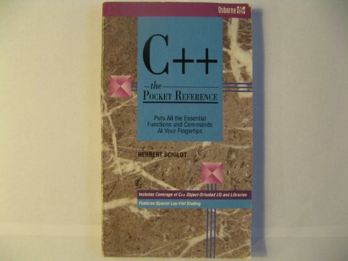 9780078819353: C++: The Pocket Reference