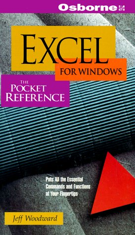 9780078820090: Excel for Windows: The Pocket Reference/Covers Excel 5 for Windows