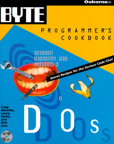 9780078820489: Byte's DOS Programmer's Cookbook (BYTE's Programmer's Cookbook)