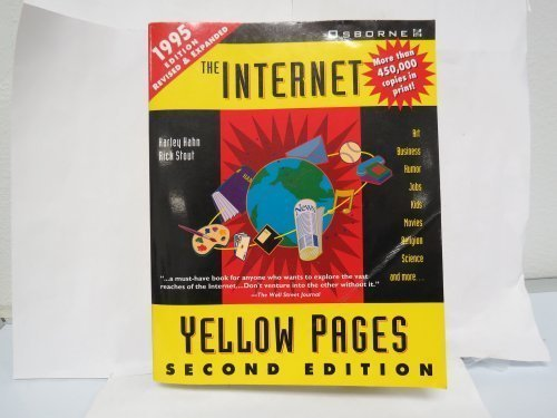 9780078820984: The Internet Yellow Pages (Harley Hahn's Internet and Web Yellow Pages)