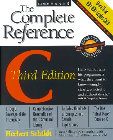 9780078821011: C: The Complete Reference (Complete Reference Series)