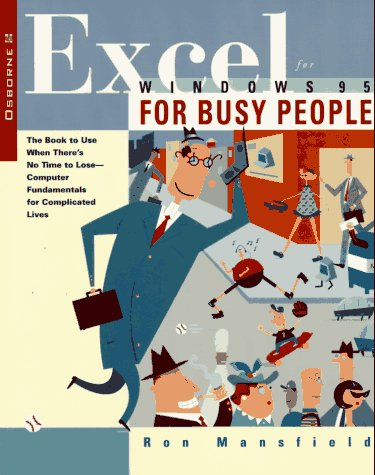 9780078821110: Excel for Windows 95 for Busy People