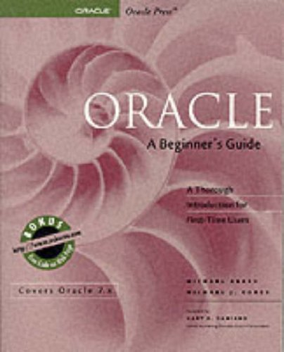 9780078821226: Oracle: A Beginner's Guide