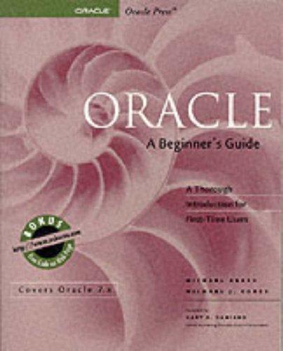 9780078821226: Oracle: A Beginner's Guide (Oracle Series)