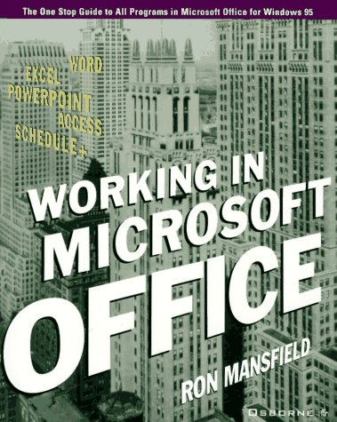 9780078821646: Working in Microsoft Office