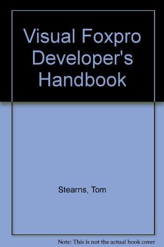 9780078821844: Visual Foxpro Developer's Handbook