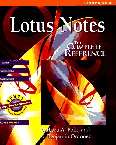9780078822056: Lotus Notes: The Complete Reference