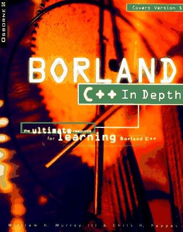 9780078822162: Borland C++ in Depth
