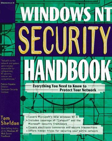 9780078822407: Windows NT Security Handbook