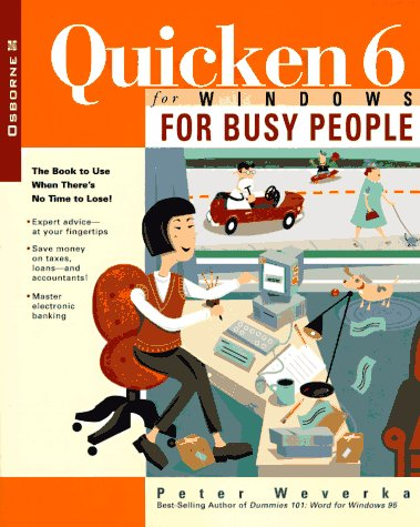 9780078822438: Quicken 6 for Windows for Busy People
