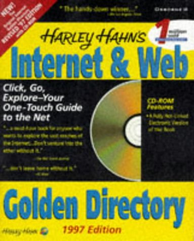 9780078822605: Harley Hahn's Internet & Web Golden Directory 1997