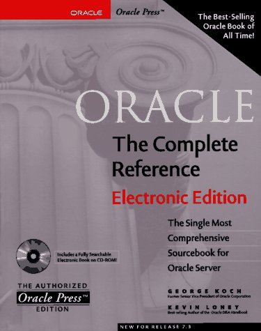 9780078822858: Oracle: The Complete Reference, Electronic Edition