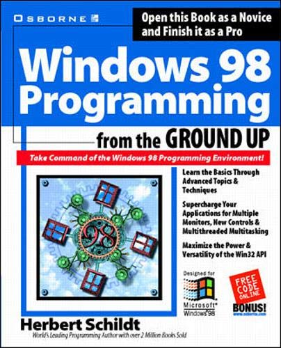 9780078823060: Windows 98 Programming from the Ground Up